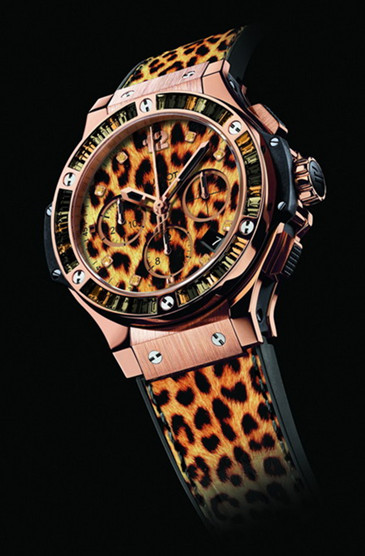 replica hublot big bang leopard watch