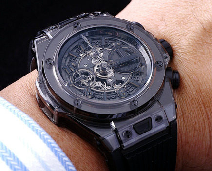 Replica Hublot Sapphire Black Watches