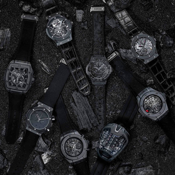 top 10 replica hublot all black watches
