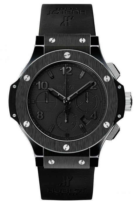 2006 replica hublot all black watch