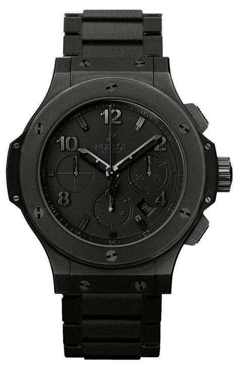2008 replica hublot all black Big Bang Aero Bang watch