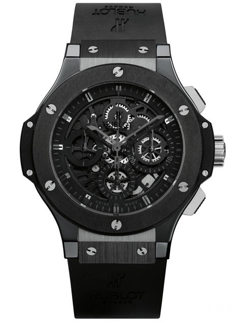 2009 replica hublot big bang all black watch
