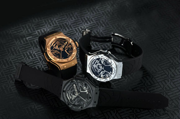 Replica Hublot Big Bang Panthers White Tiger Watches