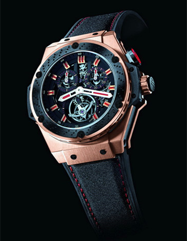 hublot replica king power f1 chrono tourbillon