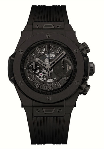 replica hublot big bang unico all black